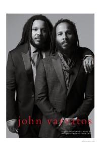 Filhos de Bob Marley estrelam campanha de John Varvatos