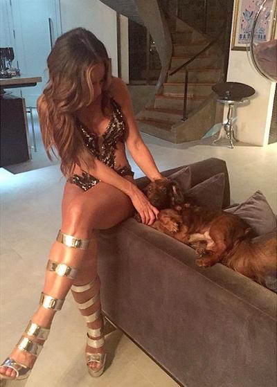 Sabrina Sato dá atenção para Bernardo, seu pet carente || Créditos: Reprodução Instagram