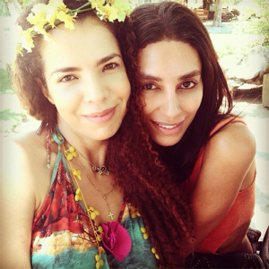 """Lea T sobre Vanessa Da Mata: """"Feliz em ter você na minha vida"""""""