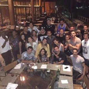 Riccardo Tisci, Anitta e uma trupe de glamurettes em jantar no Rio