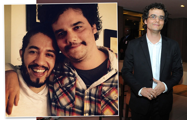 Wagner Moura mudou para viver Pablo Escobar || Créditos: Reprodução Facebook e André Ligeiro