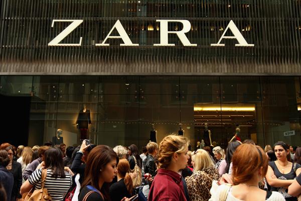 Zara || Crédito: Getty Images
