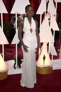 Lupita usou o vestido mais caro do Oscar. Os detalhes, aqui!
