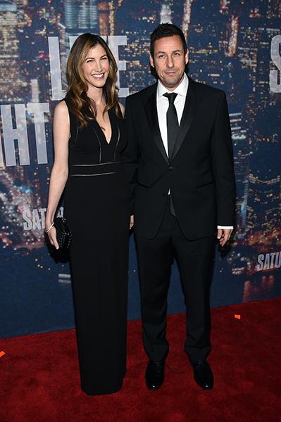 Jackie Sandler e Adam Sandler