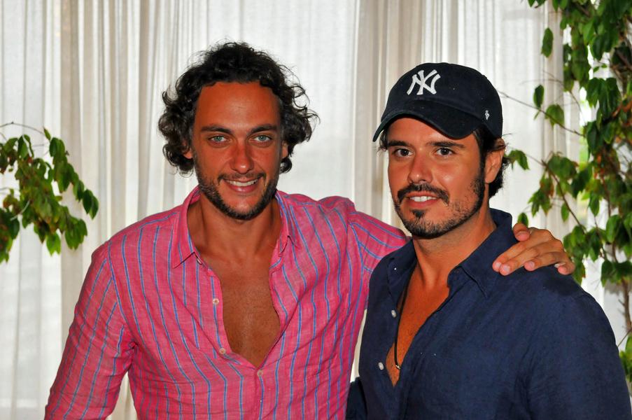 André Sada e Leo Ribeiro