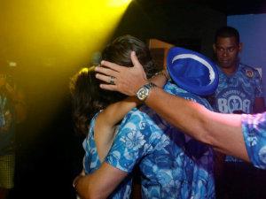 Chace Crawford beija muito Manu Gavassi no Camarote da BOA