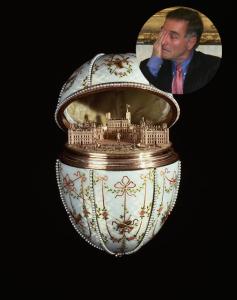 Ovo Fabergé apreendido na casa de Eike Batista era falso