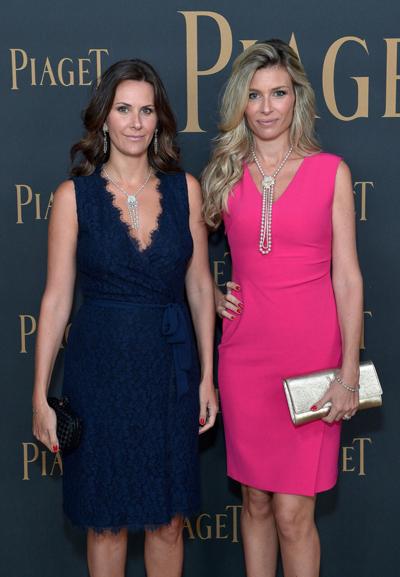 Paula e Joanna Trabusli no pink carpet do Spirit Awards, nesse sábado    Créditos: Acervo pessoal