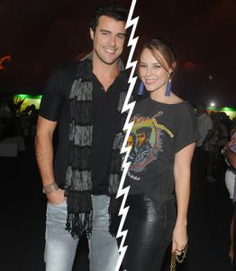 Paolla Oliveira e Joaquim Lopes se separam depois de cinco anos