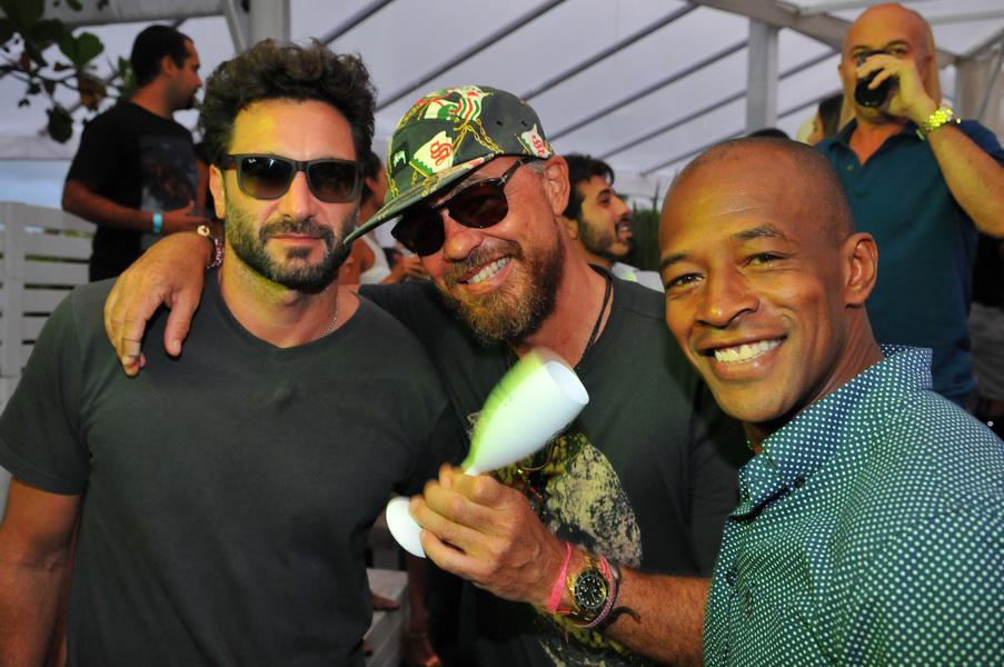 Rico Mansur, Marcos Campos e Lui Mendes
