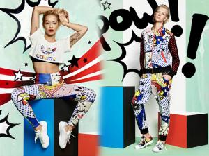 Rita Ora e Adidas lançam nova coleção inspirada nos quadrinhos