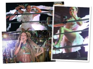 Tanquinho e pernão reinaram nos looks de Claudia Leitte na Bahia. Relembre!