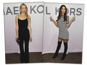 Famosas mil na festa armada por Michael Kors durante a semana de moda