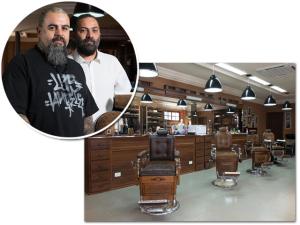 Alberto Hiar, o Turco Loco, inaugura barbearia da Cavalera em SP