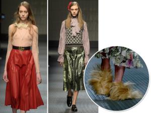 Novo diretor criativo da Gucci aposta em coleção andrógina em Milão