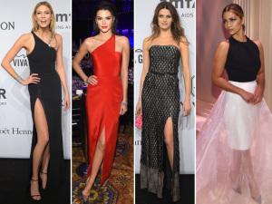 Kendall Jenner, Isabelli Fontana e profusão de tops no gala da amfAR