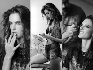 O making of da campanha de DZARM. com Alessandra Ambrósio