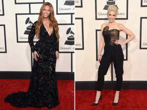 12 maneiras de vestir preto, diretamente do Grammy 2015