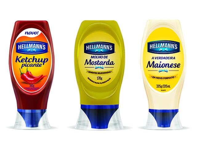 Os produtos Hellmann's || Créditos: Divulgação