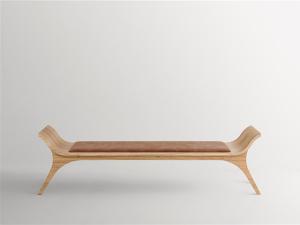 Lá em Casa: o minimalismo do banco Sutra da designer Jacqueline Terpins