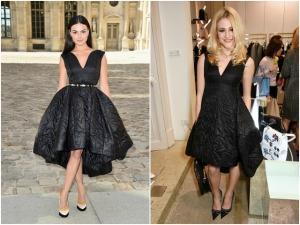 Quem vestiu melhor o pretinho nada básico: Isis Valverde ou Pixie Lott?