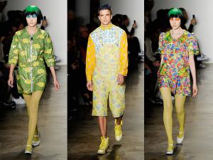 Jeremy Scott apresenta seu inverno 2015 fun na semana de moda de NY