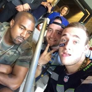 Famosos invadem o Super Bowl, mas Kanye West rouba a cena