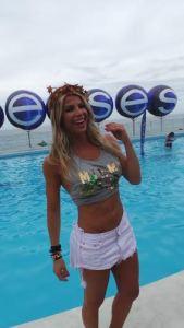 Karina Bacchi surpreeende com novo corpo no Carnaval de Salvador