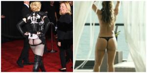 O derrière de Madonna no Grammy vs. o de Paolla Oliveira. Ui!