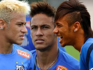 Neymar chega aos 23 anos com mudança total na vida… e no cabelo!