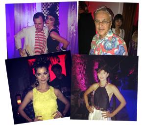 Caetano, Camila Pitanga e Alinne Moraes em baile privé: aos detalhes!