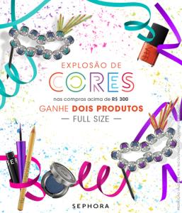 """Sephora arma promoção """"às cegas"""" para animar a folia das glamurettes"""