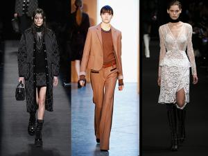 Três tendências de inverno direto de Nova York. Se liga nas nossas escolhas!