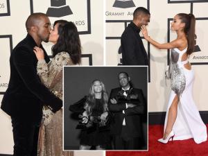 Casais famosos usam o Grammy para declarar o amor. À galeria!