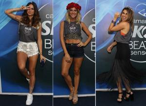 Fê Paes Leme, Thaila Ayala e Giovanna Ewbank caem na folia em Salvador