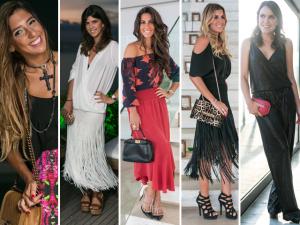 Glamurettes cariocas desvendam seus looks em festa