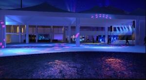 Skol Beats Senses leva piscina para camarote em Salvador