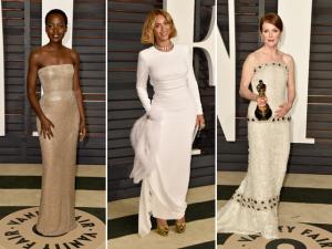 Celebs deixam o Oscar para desfilar em badalado after party