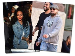 Rihanna e Leonardo DiCaprio alimentam rumores sobre romance