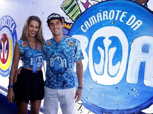 Yasmin Brunet e o namorado Evandre Soldati ||Créditos: AgNews