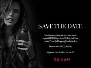 DZARM. faz sessão especial de 50 Tons de Cinza para convidadas