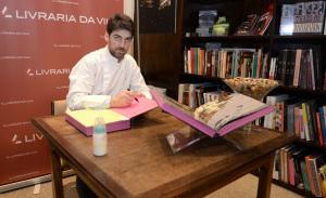 Massimiliano Alajmo lança livro na Livraria da Vila do shopping Cidade Jardim