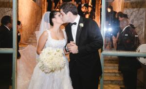 Sofia Derani e André Bocchi se casam no Jockey Club de São Paulo