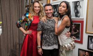 Talytha Pugliesi e Lea T ganham festa de aniversário de Matheus Mazzafera