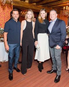 Alexandre Birman pilota jantar para fashionistas em Paris