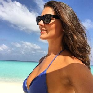 Daniella Sarahyba em mais um cenário paradisíaco: Ilhas Maldivas!