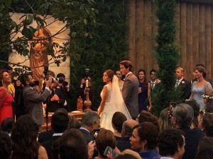 O casamento poderoso de Giuliana Torre e Eduardo Constantino
