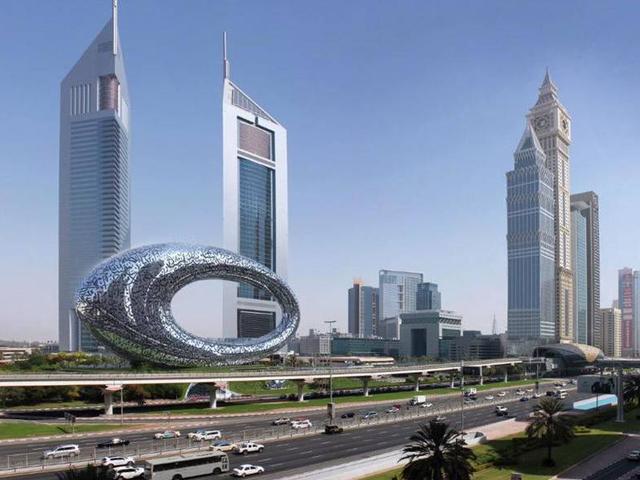 O futuro Museum of the Future, em Dubai || Crédito: Divulgação
