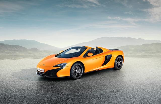 O novo McLaren 570S || Créditos: Divulgação