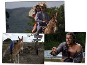 Caio Blat, com medo de Alexandre Borges, troca Maria Flor por mula